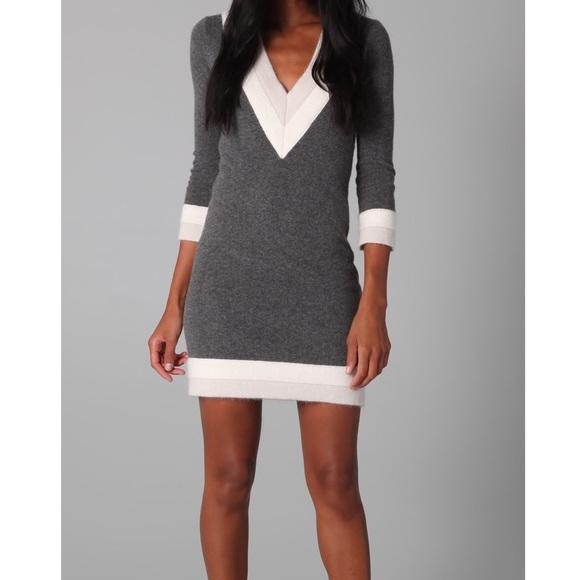 80c8ebae463 rag   bone Dean V-Neck Sweater Dress. M 5b776b3525457a703ffc6ca5